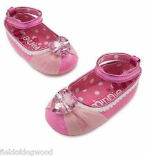 Disney Store Minnie Mouse Baby Costume Shoes Heart Jewel 6 12 18 24 Months NWT