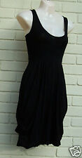 PUFFBALL BLACK  DRESS 8 10 12 CLOCKHOUSE STRETCHY VISCOSE LINED SKIRT - PARTY