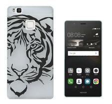 c1012 Black Tiger Face Case Cover For Huawei P8 P9/P8 P9 Lite Honor Y3 5