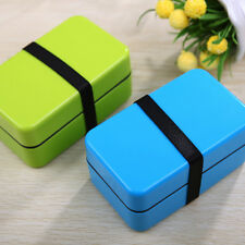 Plastic Japanese Kids Small Bento Lunch Box Food Container Sushi Box BPA Free