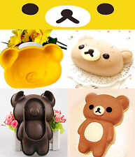 San-x Rilakkuma Silicone Baking Cake Chocolate Pudding Mold Mould Maker Tray Pan