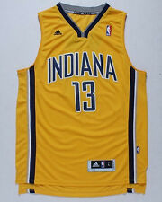 Yellow Color Paul George Indiana Pacers #13 Jersey Adult Mens Size S M L XL XXL