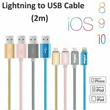 New MFI 8 Pin Lightning-compatible USB Data Charger Cable for iPhone 6 5S iPad
