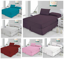Luxury Percale Fitted Non Iron Bed Sheets - Single, Double, King & Super King