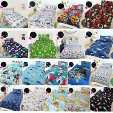 Glow in The Dark Boys/Kids Quilt Cover Set by Happy Kids - SINGLE DOUBLE QUEEN