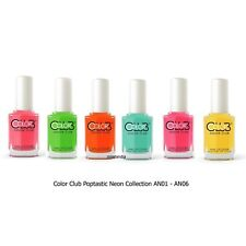 Color Club Nail Polish Poptastic Pastel Neon Collection N1-N5 2015 Summer Hot