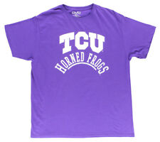 Old Varsity TCU Horned Frogs Shirt Purple