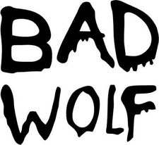 Doctor Who - Bad Wolf - Vinyl Car Window and Laptop Decal Sticker