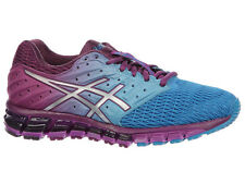 NEW WOMENS ASICS GEL-QUANTUM 180 2 RUNNING SHOES TRAINERS BLUE JEWEL / SILVER