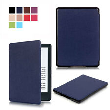 "Leather Smart Flip Case Cover For Amazon All New Kindle 2016 6"" 8th Generation"