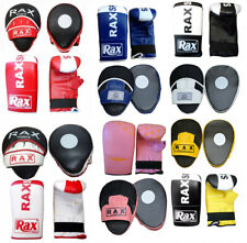Focus Pads And Mitts Gloves Hooks Jab Set Sparring Punch Bag Training R A X