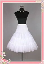 50s Swing Petticoat White Underskirt Rockabilly Tutu Slip Fancy Net Skirt Black