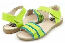 NIB LIVIE & LUCA Shoes Sandals Taffy Green Apple Lime Green 10 11 12