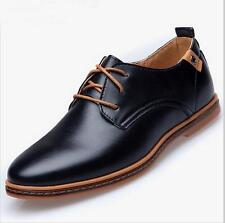 Large size men's leather shoes British style fashion casual shoes