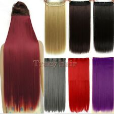 New Real Thick,24-26 Inch,3/4 Full Head Clip In Hair Extensions,Hair Clips H822