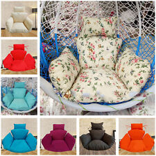 Washable Hanging Chair Wicker Chair Seat Cover Elasticity Mat Pad Cushion