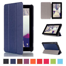 For Amazon Kindle Fire HD 7 2015 PU Leather Flip Folio Case Stand Cover Tablet
