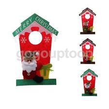 Lovely Xmas Christmas Hanging Decorations Home Restaurant Wall Door Hangings