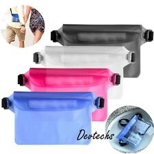 Waterproof Bag Underwater Waist Pouch Dry PVC Case for iPhone Samsung US Stock