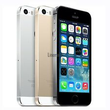 "Apple iPhone 5S- 16GB 32GB GSM ""Factory Unlocked"" Smartphone Gold Gray Silver Y2"