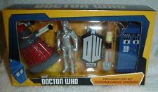 DR WHO Doctor Who Christmas Ornament Set OF 5 TARDIS DALEK CYBERMAN SONIC more