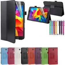 Leather Stand Case for Samsung Galaxy Tab S2 8'' with Screen Protector &Stylus