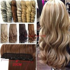 Real Thick,24-26 Inch,Clip In Hair Extensions,3/4 Full Head,Black Ombre   H828