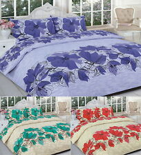 Lucy Printed Duvet Cover Bedding Set Single Double King Super King