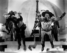 Blazing Saddles Two Cowboys Jumped Scene Excerpt from Film High Quality Photo