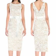 Summer Womens Sexy Backless Floral Sleeveless Lace Bodycon Party Formal Dress