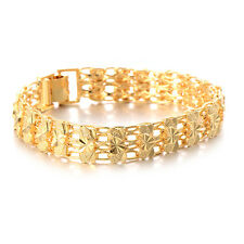 Fashion Womens heart bracelet set Gold filled indian free shipping jewelry
