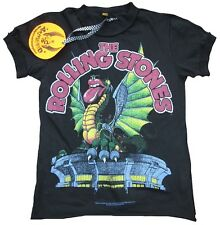 AMPLIFIED Official ROLLING STONES Dragon Tongue Rock Star Vintage T-Shirt size