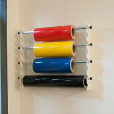 Vinyl Sticker/Roll Self Adhesive Sign Making Wall Rack/Holder Dispenser - 75cm