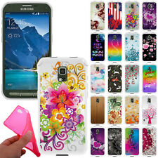 For Samsung Galaxy S5 Active G870A TPU Slim Gel Silicone Rubber BACK Case Cover
