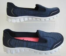 Ladies Sketchers Flex Memory Foam Encounter 22641 Navy 3 - 7 (GO)