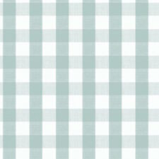 Duck Egg Gingham Check PVC Oilcloth Tablecloth Round Square Rectangle