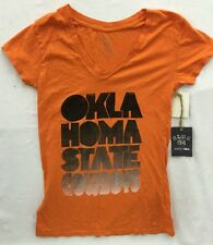 Oklahoma State Cowboys 84 NCAA Women's V-Neck T-Shirt - NWT
