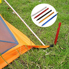 Tent Peg Floor Nail Aluminium Alloy Stake Rope Outdoor Camping Equipment Tools X
