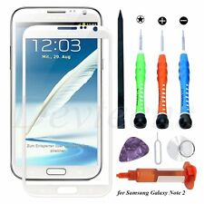 Front Outer Screen Glass Lens Replacement for Samsung Galaxy Note 2 UV Glue Tool