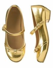 NWT GYMBOREE All Spruced UP Gold Dress Shoes SZ  9 10 11 12 13 1 2