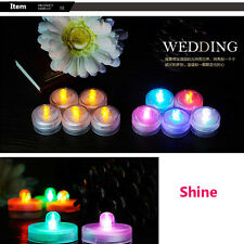 Flicker Light Flameless LED Tealight Tea Candles Wedding Light With Seven Color