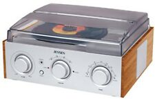 Jensen 3-Speed Stereo Turntable with AM/FM