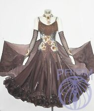 BALLROOM GOWN STANDARD SMOOTH DANCE COMPETITION DRESS SIZE S M L B2266