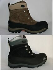 New The North Face Men's CHILKAT II WP Boots Black and Brown Waterproof