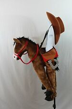 Horse Cowboy Girl Boy Halloween Full Costume Toddler Cowgirl Plush Hat NEW