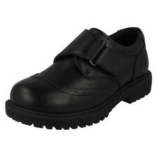 Boys Cool For School School Shoes / Round Toe / Strap Fastening / Buckle