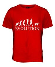 GREYHOUND EVOLUTION OF MAN MENS T-SHIRT TEE TOP DOG LOVER GIFT WALKER WALKING