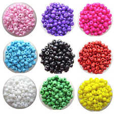 400pcs 4mm Colorful Czech Glass Seed Round Spacer beads DIY Jewelry Making