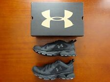 Under Armour Men's Tac Chetco Tactical Shoe Lightweight Black NWT Police EMS