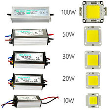 10/20/30/50/100W SMD Led Chips, Bulb Lamp Waterproof Driver For Flood Lights